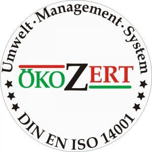 Innovations ON GmbH ISO 14001 Zertifizierung