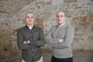 Henry Burkert und Niklas Mengele von DI-ON.solutions GmbH