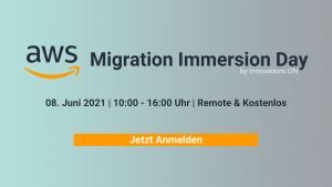 AWS Migration Immersion Day mit Innovations ON