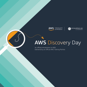 AWS Discovery Day mit Innovations ON