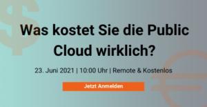 Cloud und Kosten Webinar Innovations ON GmbH
