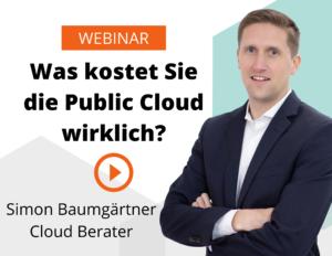 Cloud und Kosten Webinar
