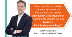 Cloud und Kosten