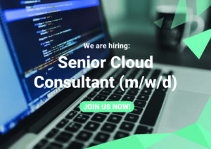 Stellenausschreibung Senior Cloud Consultant (m/w/d)